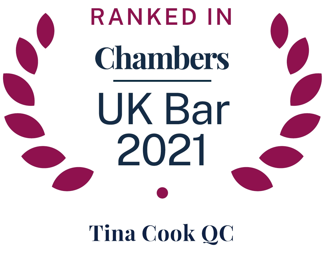 Ranked in UK Bar Chambers 2019